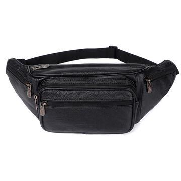 Поясная сумка, бананка ZZNICK, черная П1218