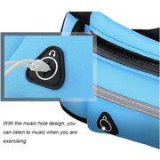 Поясные сумки - Сумка поясная, бананка ISHOWTIENDA, голубая П1229