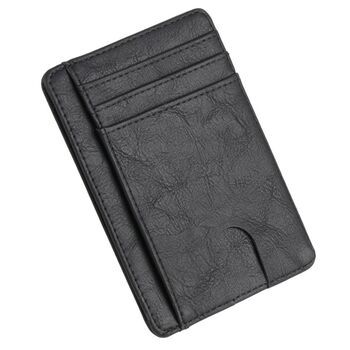Тонкий кошелек THINKTHENDO, черный П1230