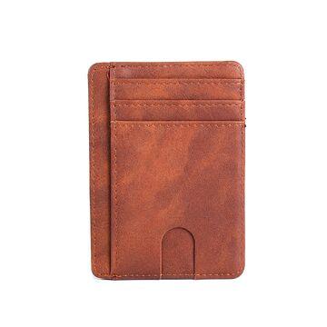 Тонкий кошелек, коричневый П1231