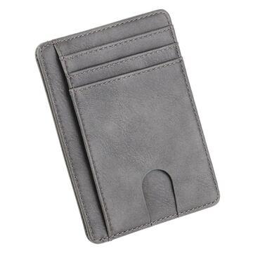 Тонкий кошелек THINKTHENDO, серый П1232