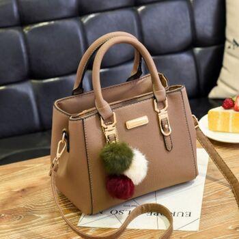 Женская сумка, коричневая 0022