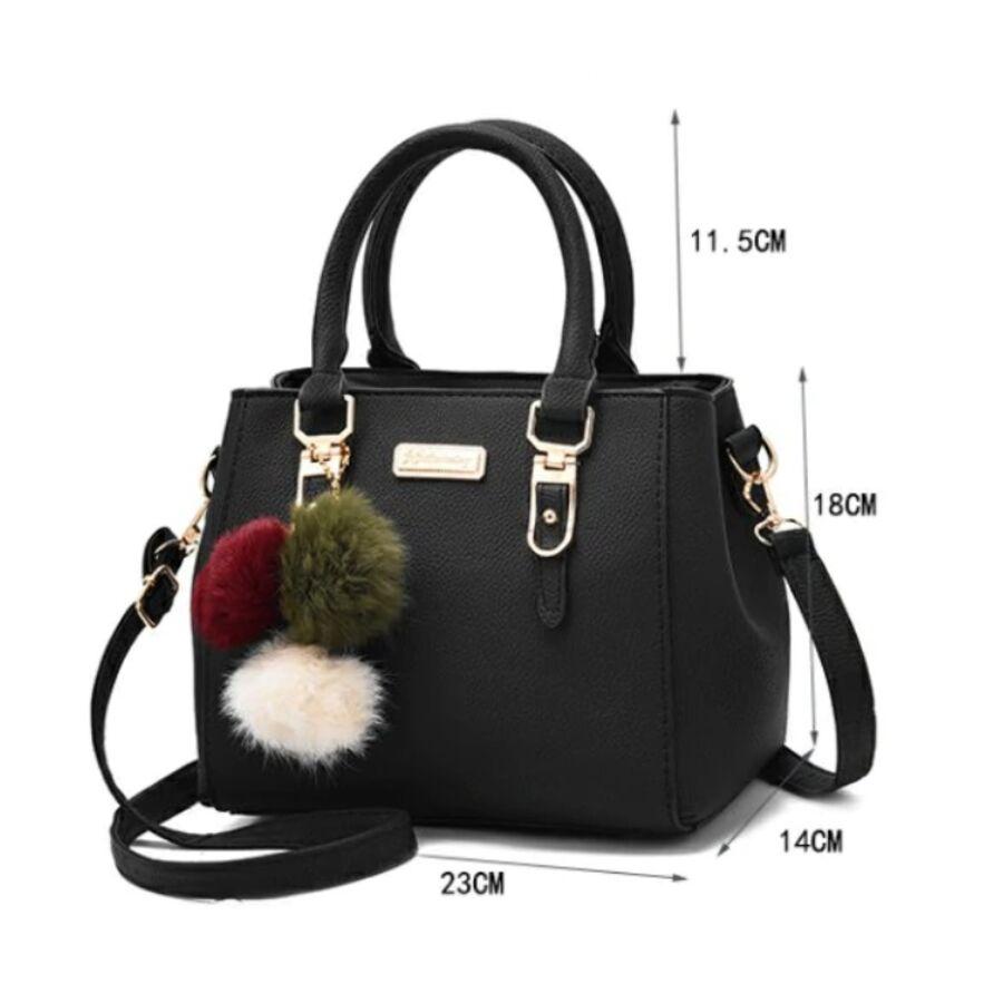 Женские сумки - Женская сумка, коричневая 0022
