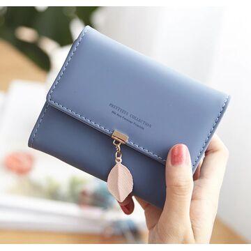 Женский кошелек, синий П1239
