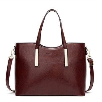 Женская сумка ACELURE, коричневая 1240