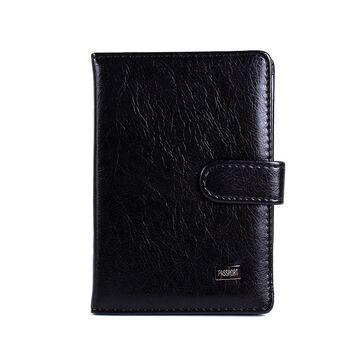 Обложка для паспорта, визитница Winligture черная П1245