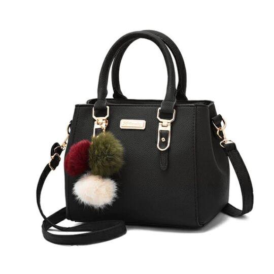 Женские сумки - Женская сумка, черная П0024