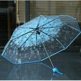Зонтик, голубой 0025