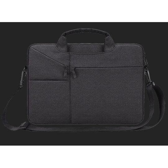 Сумки для ноутбуков - Сумка GOOJODOQ, для ноутбука черная П2735