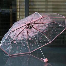Зонтик, розовый 0026