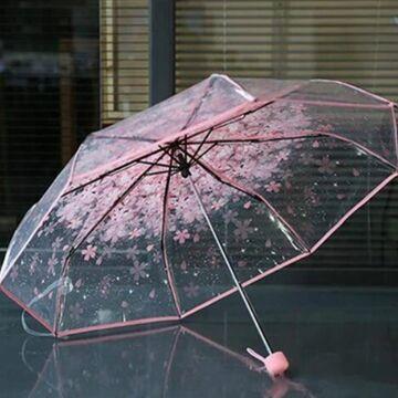 Зонтик, розовый П0026