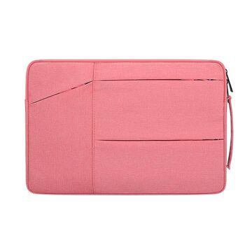 Сумка GOOJODOQ, для ноутбука розовая П2738