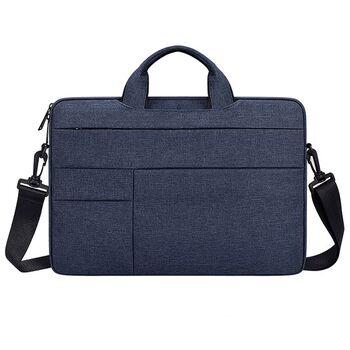 Сумка GOOJODOQ, для ноутбука синяя 1265