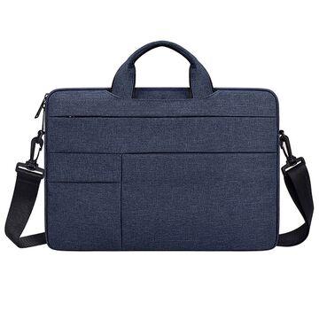 Сумка GOOJODOQ, для ноутбука синяя П2741