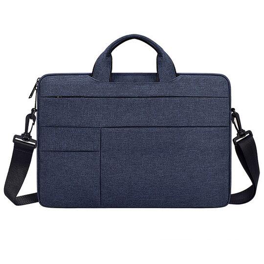Сумки для ноутбуков - Сумка GOOJODOQ, для ноутбука синяя П2741