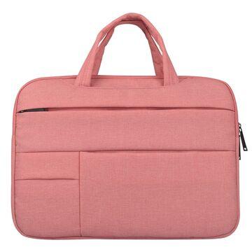 Сумка GOOJODOQ, для ноутбука розовая П1267