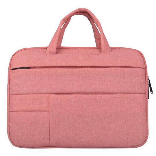 Сумки для ноутбуков - Сумка GOOJODOQ, для ноутбука розовая П1267