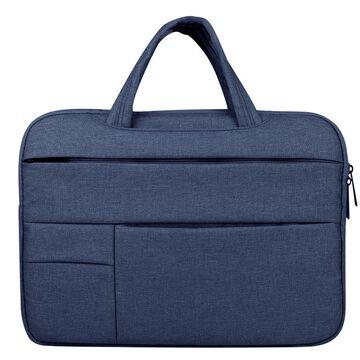 Сумка GOOJODOQ, для ноутбука синяя П1269