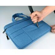 Сумки для ноутбуков - Сумка GOOJODOQ, для ноутбука синяя П1269