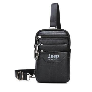 Мужская сумка JEEP BULUO черная П1273