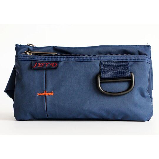 Поясные сумки - Сумка поясная, бананка, синяя П1285