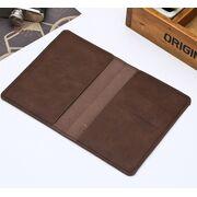 Обложки для паспорта - Обложка для паспорта, коричневая П1295