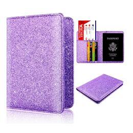 Обложка для паспорта, фиолетовая 1296