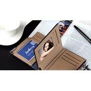 Мужские кошельки - Мужской кошелек Baellerry, коричневый П0030