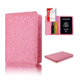 Обложка для паспорта, розовая 1298