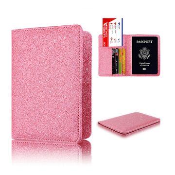 Обложка для паспорта, розовая П1298
