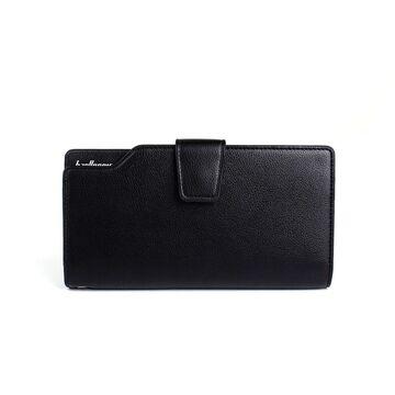 Мужской кошелек барсетка Baellerry, черный П1306