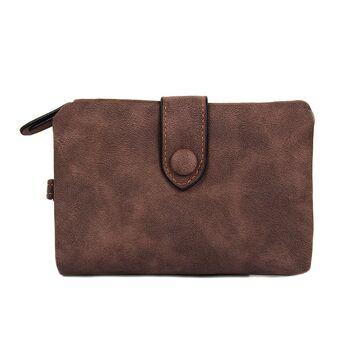 Женский кошелек DWTS, коричневый П1310