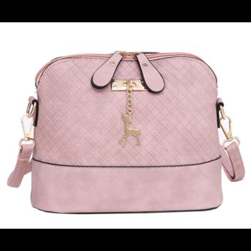 Женские сумки - Женская сумка, розовая П1323