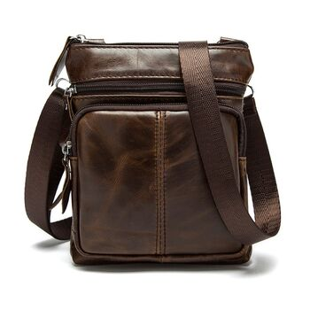 Мужская сумка WESTAL, коричневая 0033