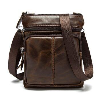 Мужская сумка WESTAL, коричневая П0033
