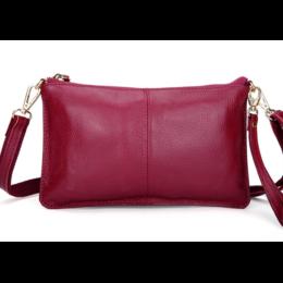 Женская сумка клатч, розовая 1328