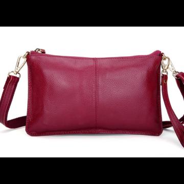Женская сумка клатч, розовая П1328
