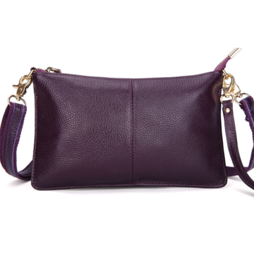 Женская сумка клатч, фиолетовая П1330
