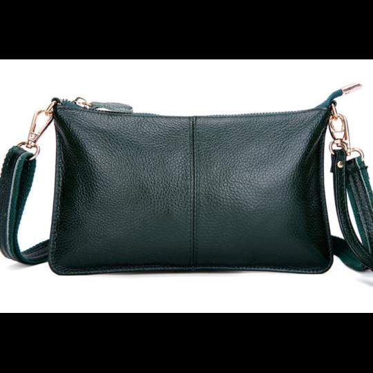 Женские сумки - Женская сумка клатч, зеленая П1332