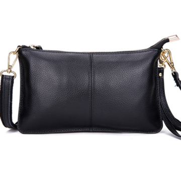 Женская сумка клатч, черная П1334