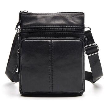 Мужская сумка WESTAL, черная 0034