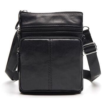 Мужская сумка WESTAL, черная П0034