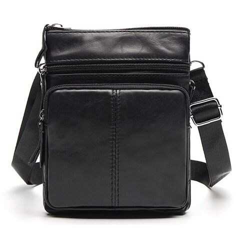 Мужские сумки - Мужская сумка WESTAL, черная 0034