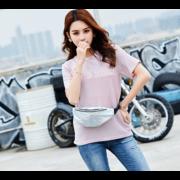 Женская поясная сумка, бананка, фиолетовая П1338
