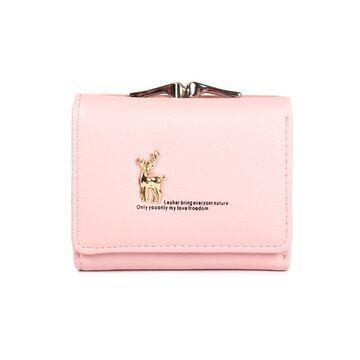 Женский кошелек Baellerry, розовый П1368