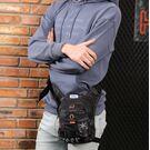 Мужские аксессуары - Мужская сумка поясная, бананка, на бедро, зеленая П1375