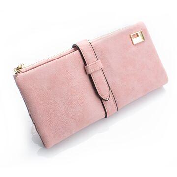 Женский кошелек, розовый П0038