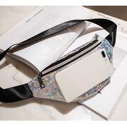 Поясные сумки - Женская поясная сумка, бананка SWDF, белая П1390