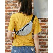 Поясные сумки - Женская поясная сумка, бананка SWDF, розовая П1391