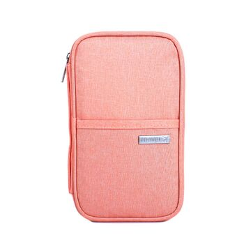 Кошелек органайзер для путешествий, розовый П1395